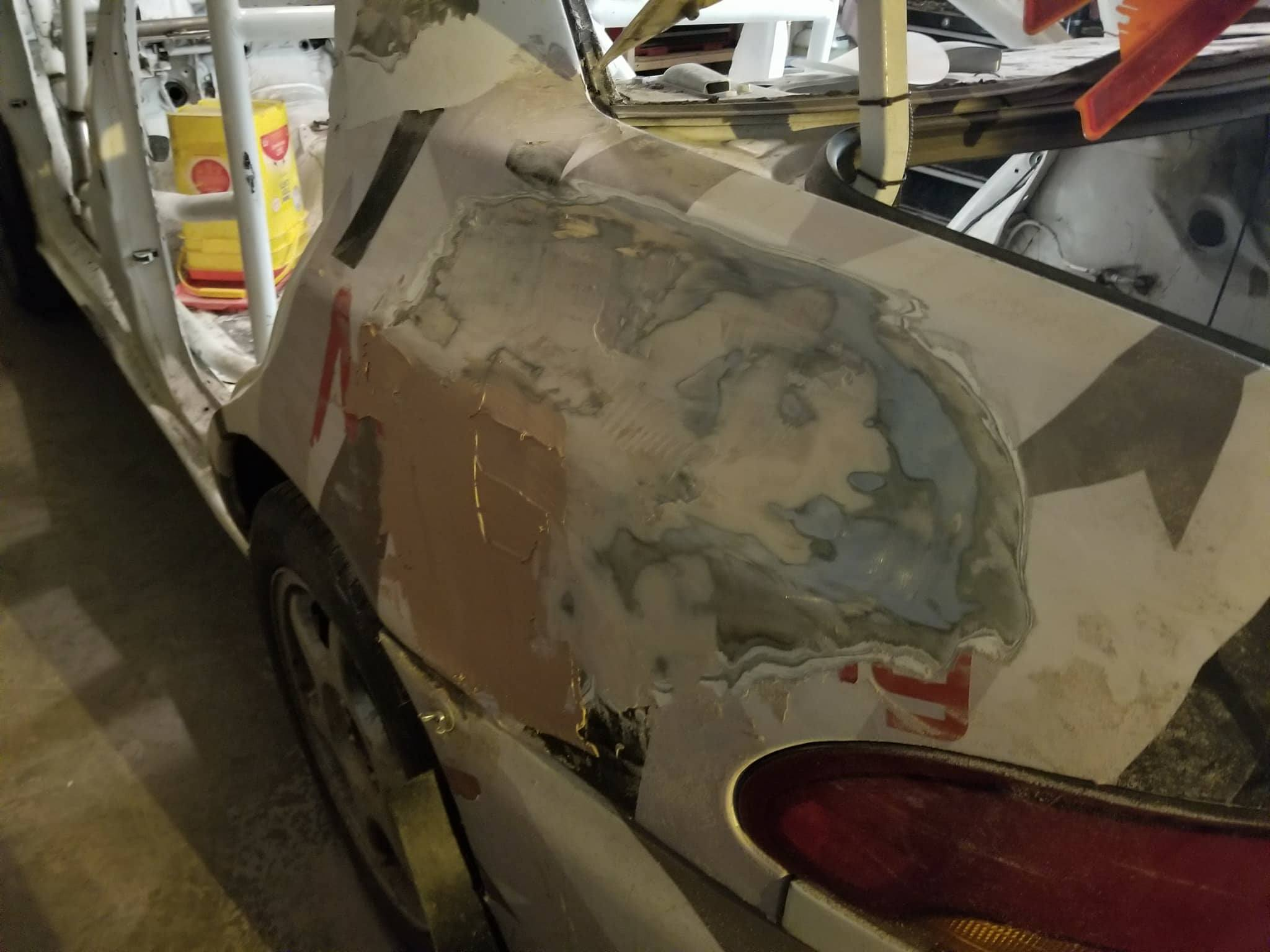 Rally Car Body Filler